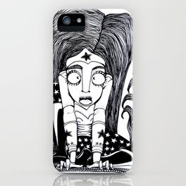 Wonder women iPhone Case