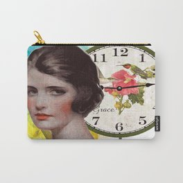 GIRL VINTAGE Pop Art Carry-All Pouch