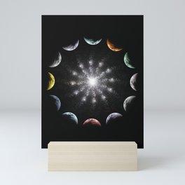 Twelve Moons Mini Art Print