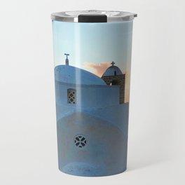 229. Sunet Chapel, Greece Travel Mug