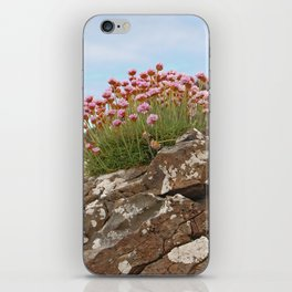 Giant's Causeway flowers iPhone Skin