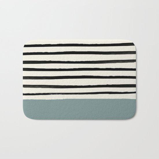 River Stone & Stripes Bath Mat
