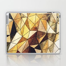 Abstract geometric patter.Triangle background Laptop & iPad Skin