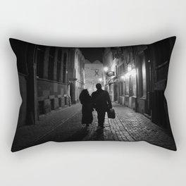 Brussels, a night walk in the heart of Europe Rectangular Pillow