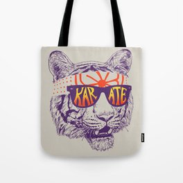 Karate Tiger Tote Bag