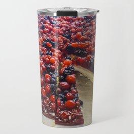 Cheesecake of red fruits Travel Mug