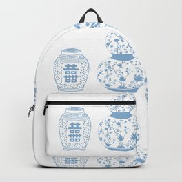 Ginger Jars Light Blue Backpack
