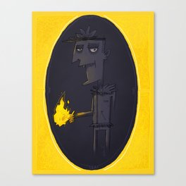 Pyrokinetic Canvas Print