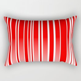 Red Track Rectangular Pillow