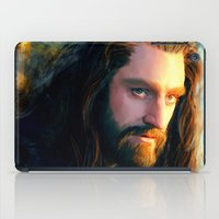 thorin iPad Cases featuring Thorin OakenShield by Alba Palacio