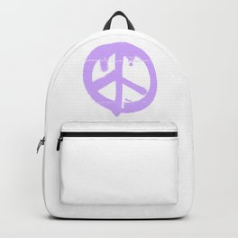 Peace lilac Backpack