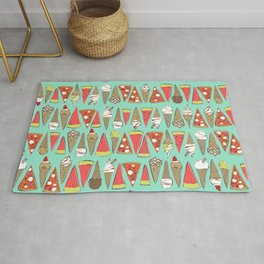 treats mint Rug