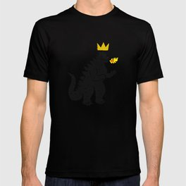 Jean-Michel Basquiat's Crown on Japanese Monster T-shirt