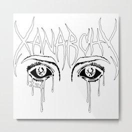Xanarchy Lil Xan Metal Print