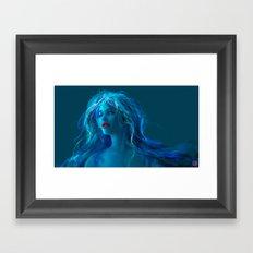 MELANCHOLY PILL Framed Art Print