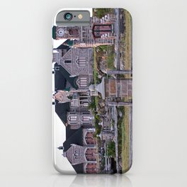 Stone Mansion on the River iPhone Case
