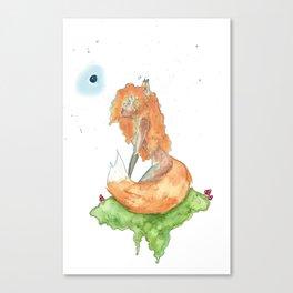 Fox Fae Canvas Print