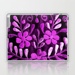 Violet Mexican Flowers Laptop & iPad Skin