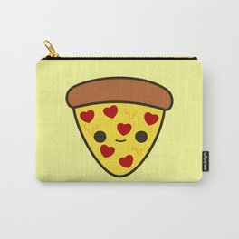 Cute pizza with heart toppings Carry-All Pouch
