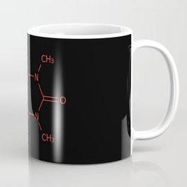 Caffiene Molecule | Molecules | Coffee | Coffee lover Coffee Mug