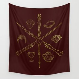 Priori Incantatem Wall Tapestry