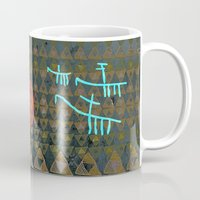 art history Mugs featuring History layers by Menchulica