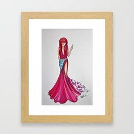 Evening Jem Framed Art Print