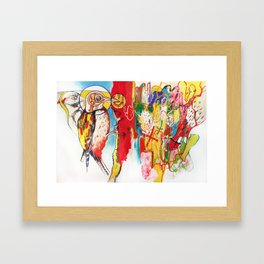 The Anatomy of Self Infliction  Framed Art Print