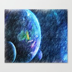 Far out there Canvas Print