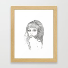 Izzybelle Framed Art Print