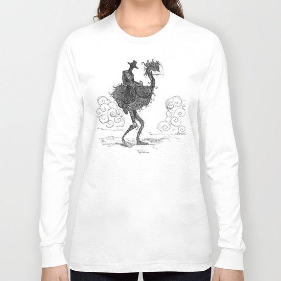 THE DARK COWBOY Long Sleeve T-shirt
