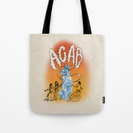 All my girls say acab Tote Bag