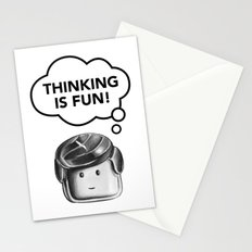 Thinking is Fun Stationery Cards