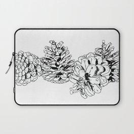 White Pine Cones Laptop Sleeve