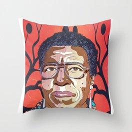 Octavia Butler Portrait Throw Pillow