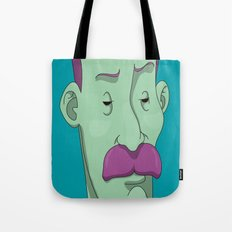 Bold mustaches & Thin eyebrows Tote Bag