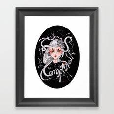 Empty Ness Framed Art Print
