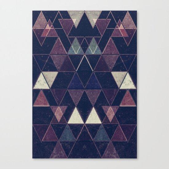 Triangles XXVI Canvas Print