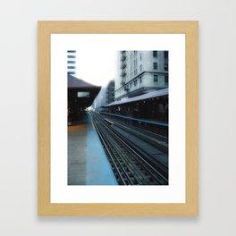 Quincy Station Framed Art Print