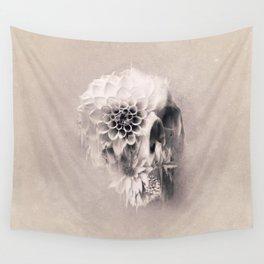 Decay Skull Light Wall Tapestry