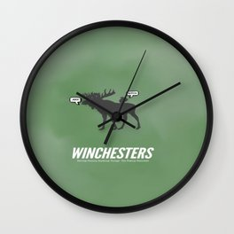 Winchesters Wall Clock