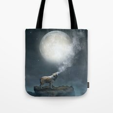 The Light of Starry Dreams Tote Bag