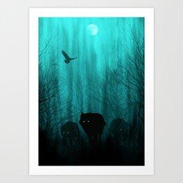Wolf Pass Art Print