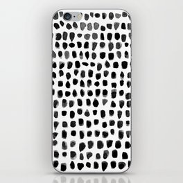 Watercolor Dots iPhone Skin
