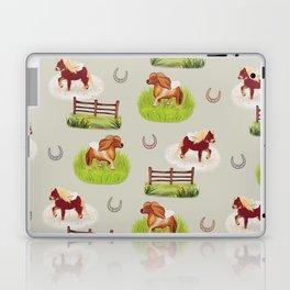 Shetland Ponies Laptop & iPad Skin