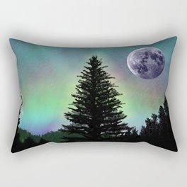 Northern Aurora Rectangular Pillow