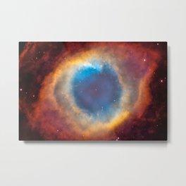 Helix Nebula, NGC 7293 Metal Print