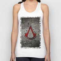 assassins creed Tank Tops featuring Creed Assassins Logo by Andrian Kembara