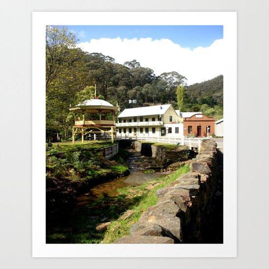 Stringers Creek - Walhalla - Australia Art Print