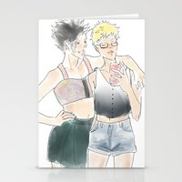 haikyuu Stationery Cards featuring KuroTsuki Haikyuu!! by Pruoviare